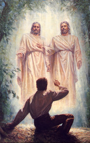 Mormon Joseph Smith first vision